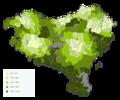 Hiriburura distantziaren mapa.png