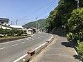 Hiroshima Prefectural Road No.366 on east side of Shin-Irikawabashi Bridge.jpg