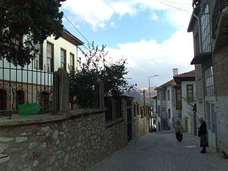 Elmalı - Historic streets of Elmalı