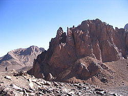 The Ahaggar Mountains