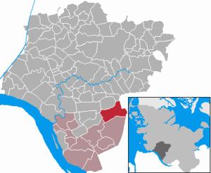 Hohenfelde, Steinburg - Image: Hohenfelde in IZ