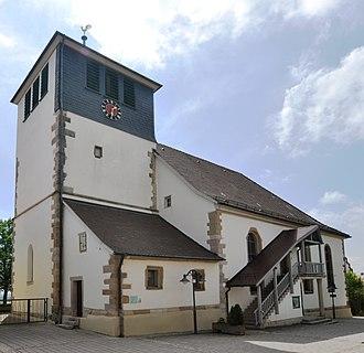 Sachsenheim - Hohenhaslach St. Georg