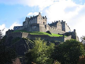 Tourism in Scotland - Edinburgh Castle, one of Scotland's most visited attractions