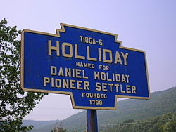 Official logo of Holliday, Pennsylvania