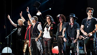 Hollywood Vampires (band) - Image: Hollywood Vamps S Se 200618 157 (42513696980)