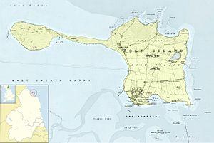Lindisfarne -  Holy Island, 1860