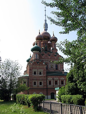 Ostankino Palace - The manorial church was consecrated in 1683