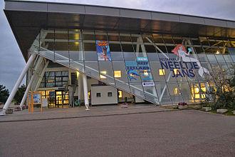 Deltapark Neeltje Jans - Main entrance building, Deltapark Neeltje Jans