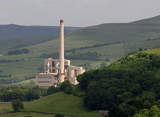 Hope, Derbyshire - Hope cement works