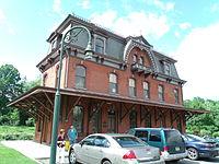 Hopewell, New Jersey, passenger rail station, June 2013 1.JPG