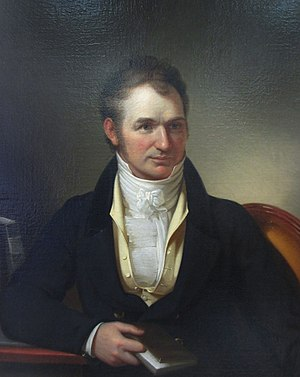 Horace H. Hayden - Image: Horace Hayden, painting by Rembrandt Peale