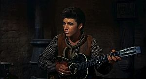 Cropped screenshot of Ricky Nelson from the tr...