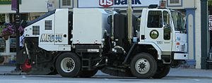 Street sweeper - Newer mechanical street sweeper in Ohio