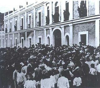 Río Blanco strike