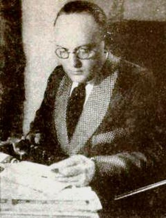 Hugo Ballin - Ballin in 1922