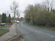 Hunnington, B4551 Looking Towards Halesowen..jpg