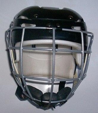 Hurling - A standard hurling helmet