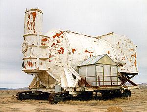 Operation Tinderbox - Image: Huron King test chamber
