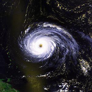 Hurricane Luis - Image: Hurricane Luis 03 sept 1995 1705Z