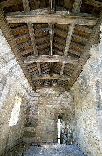 Hylton Castle - Interior of castle, 2006