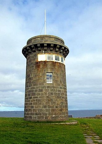 Skerryvore - Hynish signal tower, now a museum