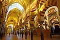 Hypostyle hall of the Mosque-Cathedral of Córdoba, Spain - DSC07203.JPG