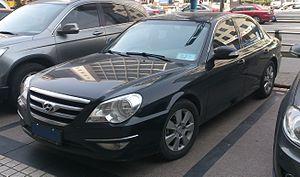 Hyundai Sonata - Hyundai Moinca - facelifted 4th-gen Sonata (only in China)