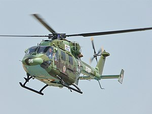 HAL Dhruv - Indian Army Dhruv at ILA 2008