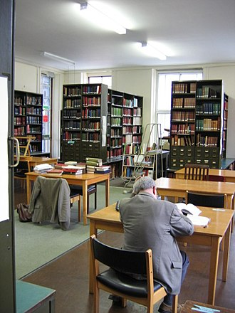 Institute of Historical Research - Image: IHR Library
