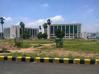 Indian Institute of Technology Patna - Block 3 (Back Side)