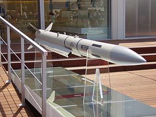 MBDA European developer and manufacturer of missiles