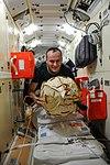 ISS-37 Sergey Ryazansky in the Rassvet module.jpg