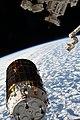 ISS-63 HTV-9 cargo ship nears the Canadarm2 (1).jpg