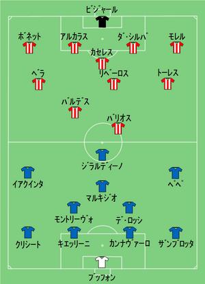 ITA-PAR 2010-06-14(jpn).... 2010 FIFAワールドカップ・グルー
