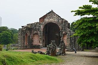 Panamá Viejo - Image: Iglesia y Convento de las Monjas de la Concepción, Panamá Viejo