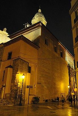 Iglesia De Santa Maria Del Sagrario Malaga Wikipedia La