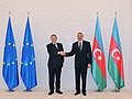 Ilham Aliyev and President of the European Commission Jose Manuel Barroso held a one-on-one meeting 2.jpg