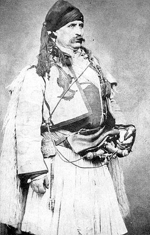 "Hajduk - Bulgarian Ilyo Voyvoda (1805–1898), known as ""the last haydut""."