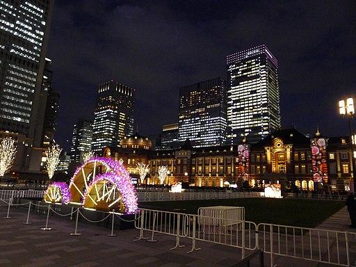 Illumination for Tokyo Station Marunouchi Square 1
