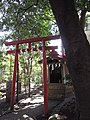 Inari Shrine (稲荷神社) in Komatsunagi Shrine (駒繋神社) - panoramio.jpg