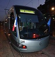 Inauguration de la branche vers Vieux-Condé de la ligne B du tramway de Valenciennes le 13 décembre 2013 (001).JPG
