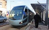 Inauguration de la branche vers Vieux-Condé de la ligne B du tramway de Valenciennes le 13 décembre 2013 (145).JPG