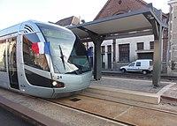 Inauguration de la branche vers Vieux-Condé de la ligne B du tramway de Valenciennes le 13 décembre 2013 (147).JPG