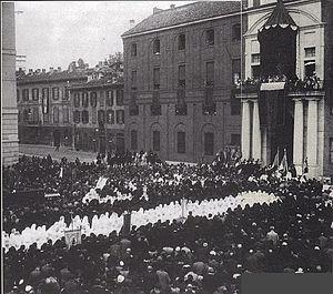 Università Cattolica del Sacro Cuore - Inauguration of the headquarters of largo Gemelli in 1930