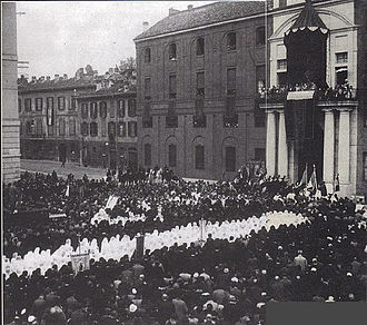 Università Cattolica del Sacro Cuore - Inauguration of the headquarters of largo Gemelli in 1930