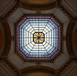 Indiana State Capitol dome 2.jpg