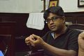 Indrajit Das Speaks - Wikimedia Meetup - St Johns Church - Kolkata 2016-09-10 9428.JPG