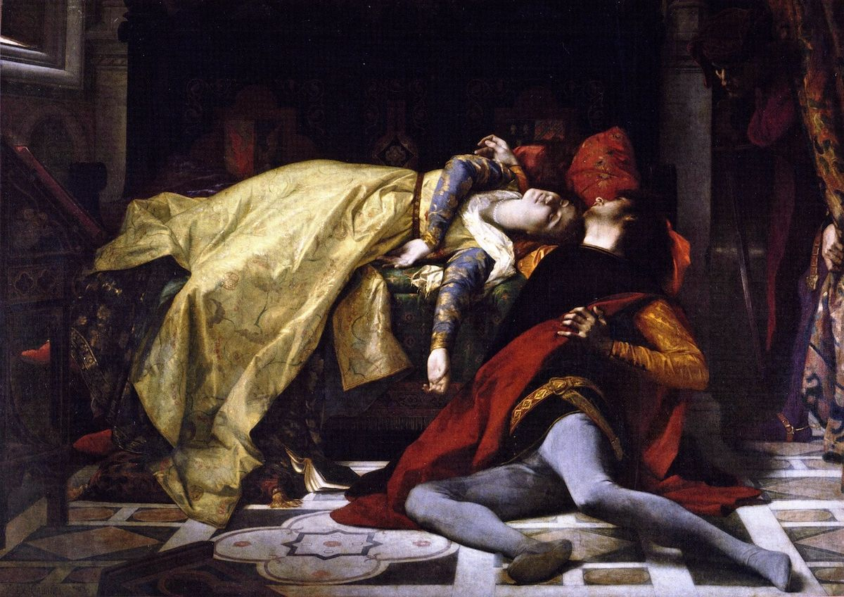 Inf. 06 Alexandre Cabanel, Morte di Francesca da Rimini e di Paolo Malatesta, 1870.jpg
