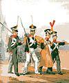 Infanterie des Fürstentums Lippe Infanterie um 1840..jpg