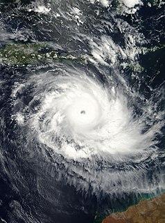 Cyclone Inigo Category 5 Australian region cyclone in 2003